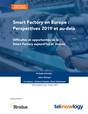 Smart Factory en Europe Perspectives 2019 et au-delà
