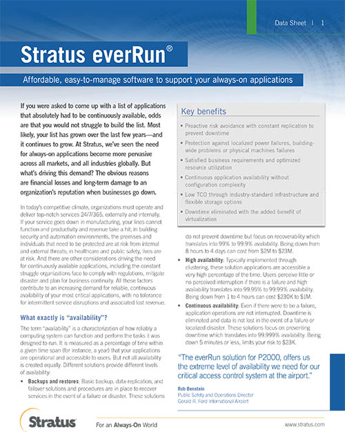 EverRun-stratus